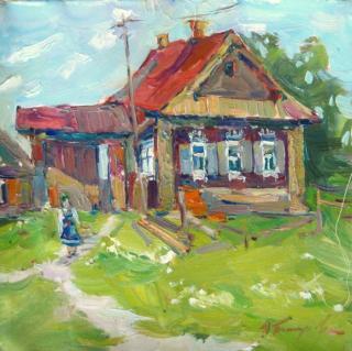 Украинская художница. Юлия Пастухова