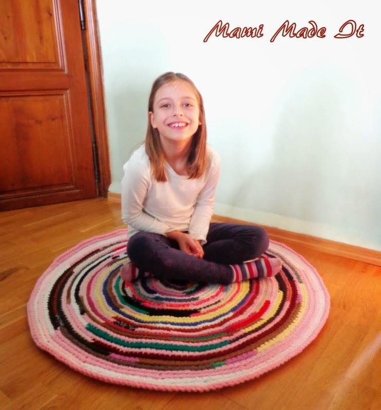 I-cord Rug - Teppich aus Strickschnüren