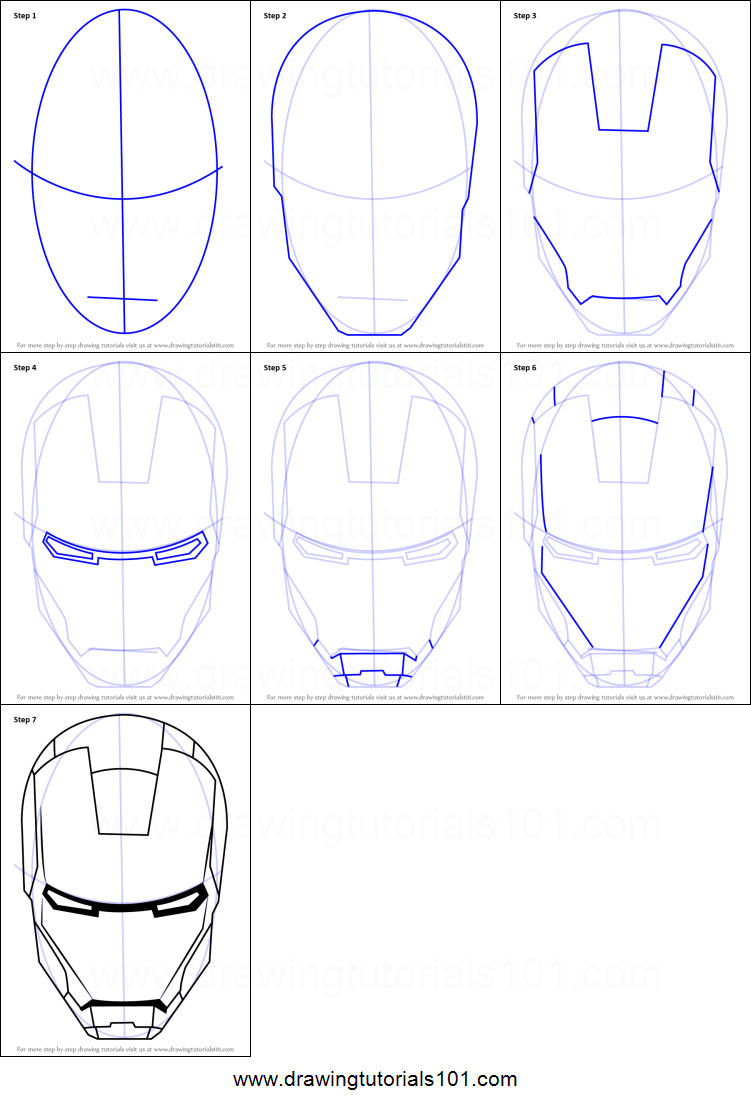 87+ Gambar Iron Man Mudah HD Terbaru