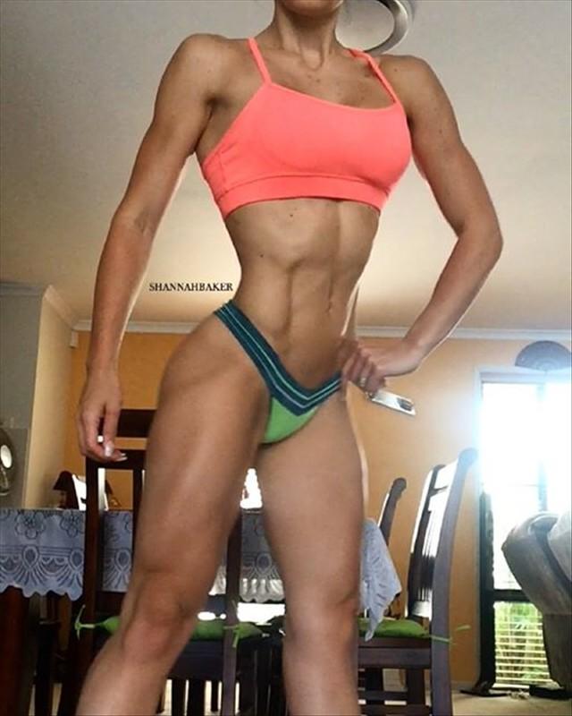 Australian Bikini Fitness Model Shannah Baker body motivation