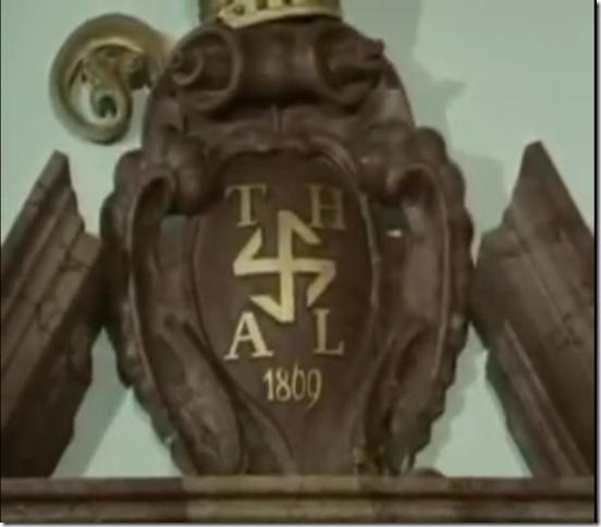 OMAIMON PARADOSIS: The Swastikas of Lambach Abbey