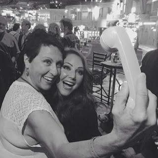 selfie teléfono antiguo