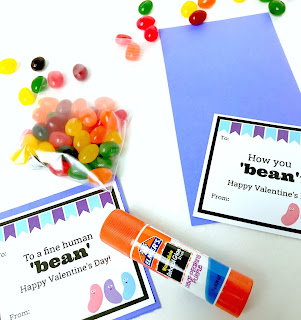 Jelly Bean Pun Printables @michellepaigeblogs.com