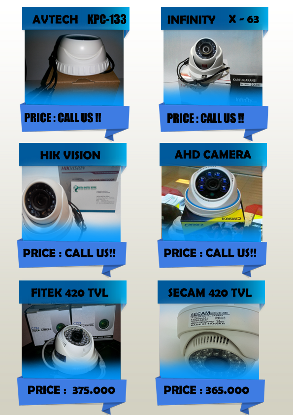 Camera cctv indoor dan outdoor