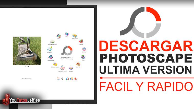 Como Descargar PhotoScape Ultima Versión Full Español