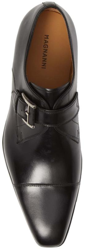 MAGNANNI Patricio Monk Strap Shoes
