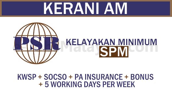 Jawatan Kosong Di Proactive Strategic Reliability Sdn Bhd