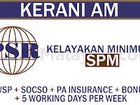 Jawatan Kosong Di Proactive Strategic Reliability Sdn Bhd - Minimum Spm / Gaji RM1,500 - RM2,500