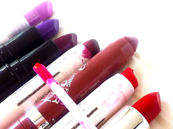 Berry To Rose Red Lipstick Choices