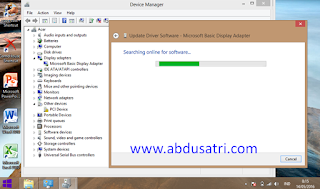 VGA bermasalah di laptop aspire one
