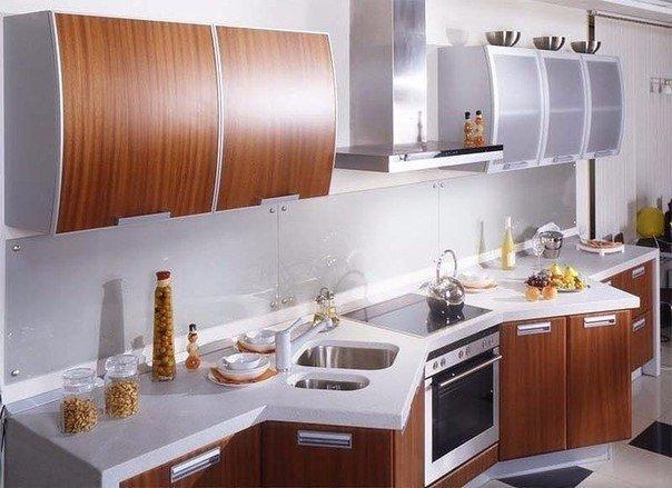 кухня с необычным дизайном
