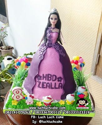 Barbie Birthday Cake Surabaya