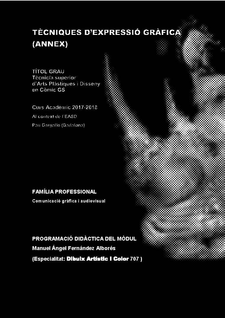 EL ANIMAL INVISIBLE: ANNEX A TÈCNIQUES D\'EXPRESSIÓ GRÀFICA AL CICLE ...
