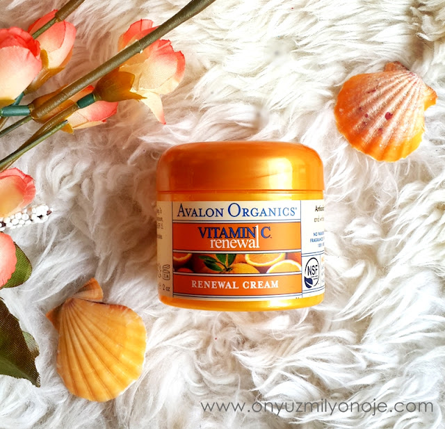 Avalon Organics C vitaminli gençleştirici etkili krem