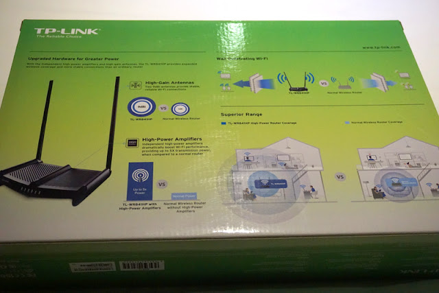 Review TP-LINK High Power Wireless N Router 300Mbps - TL-WR841HP
