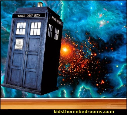 Decorating theme bedrooms Maries Manor Doctor Who bedroom