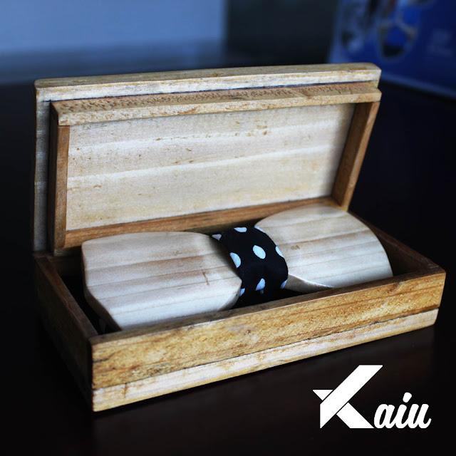 Jual Dasi Kupu Kupu dari Kayu