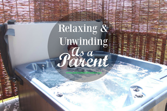 relaxing and unwinding as a parent - blog header photo - how do you relax and unwind as a parent? Finding the time without mum guilt creeping in is difficult