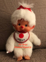 Monchhichi White Girl Japan Bib Japon 260683