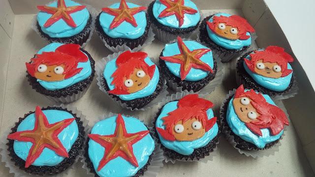 Ponyo Cupcakes