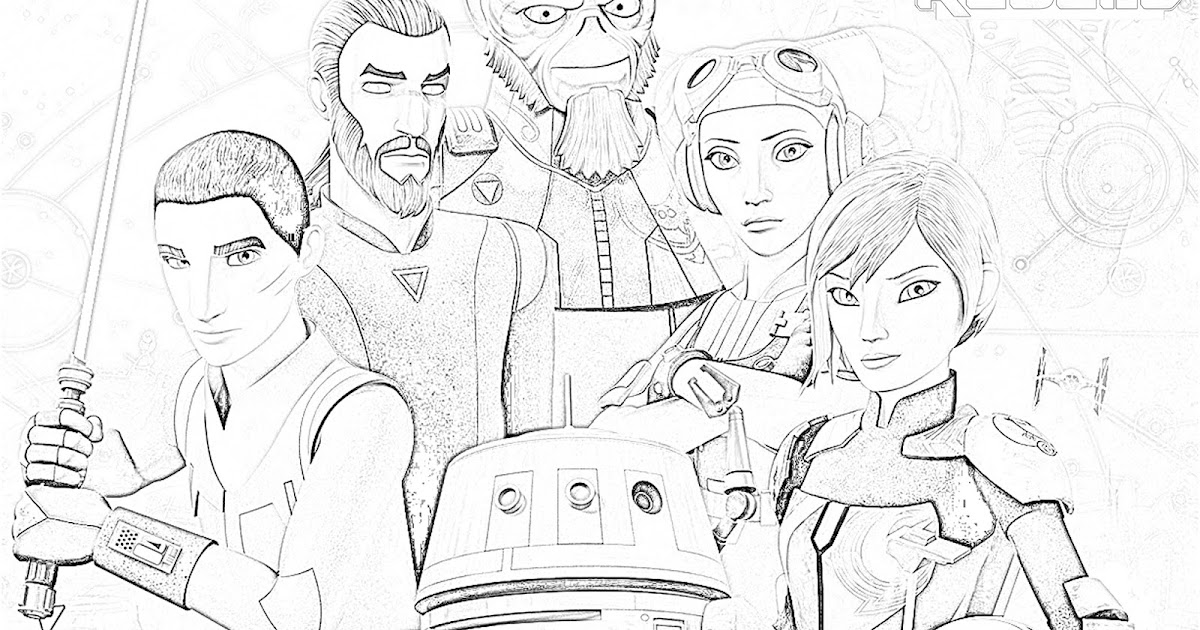 Star Wars Rebels Season 4 Coloring Page - The Star Wars Mom ...