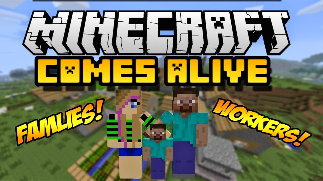 Download Direito Minecraft Comes Alive Mod 1.8.1/1.7.10/1.7.2/1.6.4/1.6.2