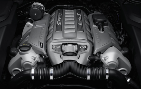 2018 Porsche Cayenne Engine