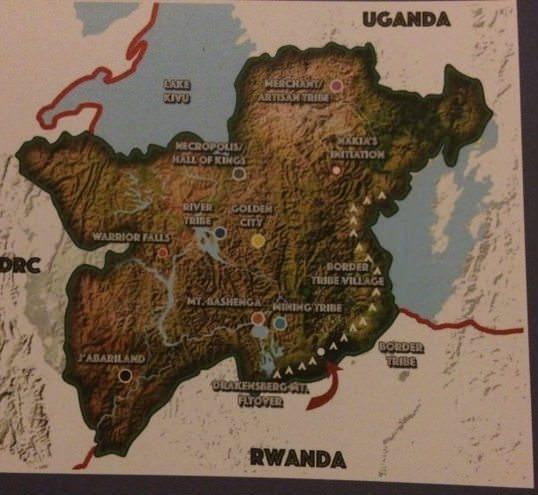 Wakanda Wakanda%2Bmap