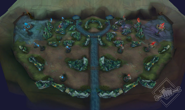 Nexus Blitz Map