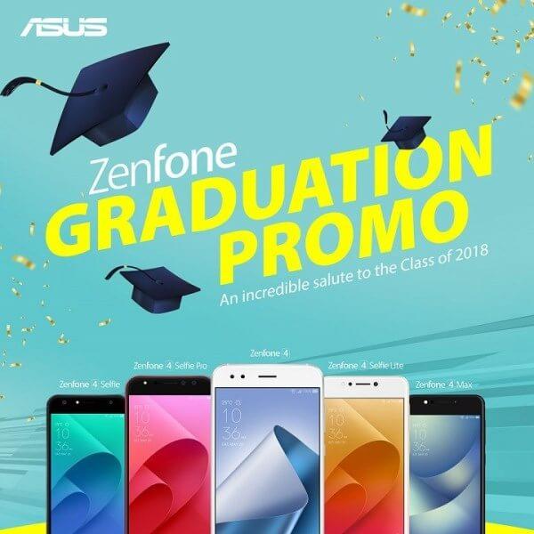 ASUS Outs ZenFone Graduation Promo