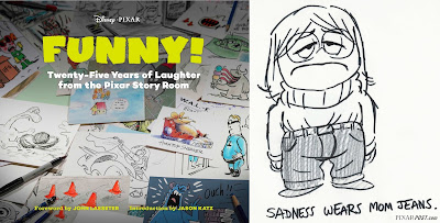 Funny! Twenty-Five Years of Laughter from the Pixar Story Room Book Cover