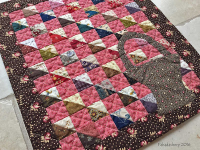 Doll Quilt made by Debbie Dodge