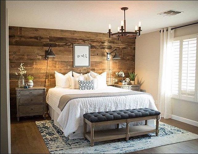 Elegant Inspirierende Rustikale Schlafzimmer Ideen, Zu Dekorieren Mit Stil