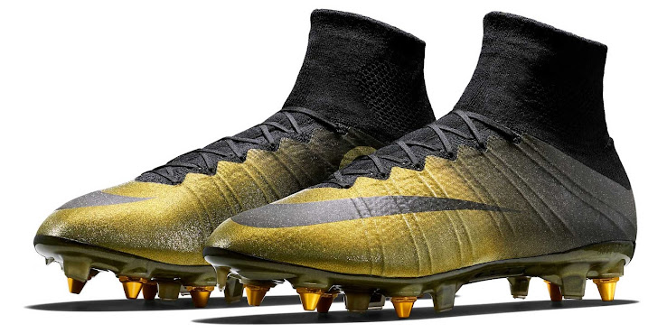 8d7bc308c46d 2014 - Cristiano Ronaldo - Nike Mercurial Superfly CR7 Rare Gold. +4. 5 of  5. 1 of 5