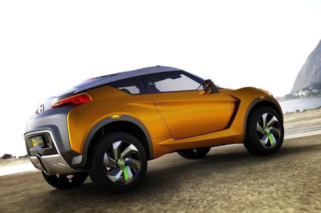 2012 Nissan Extrem Concept Rear Side