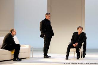 Théâtre : Art, de Yasmina Reza - Avec Charles Berling, Jean-Pierre Darroussin, Alain Fromager - Théâtre Antoine