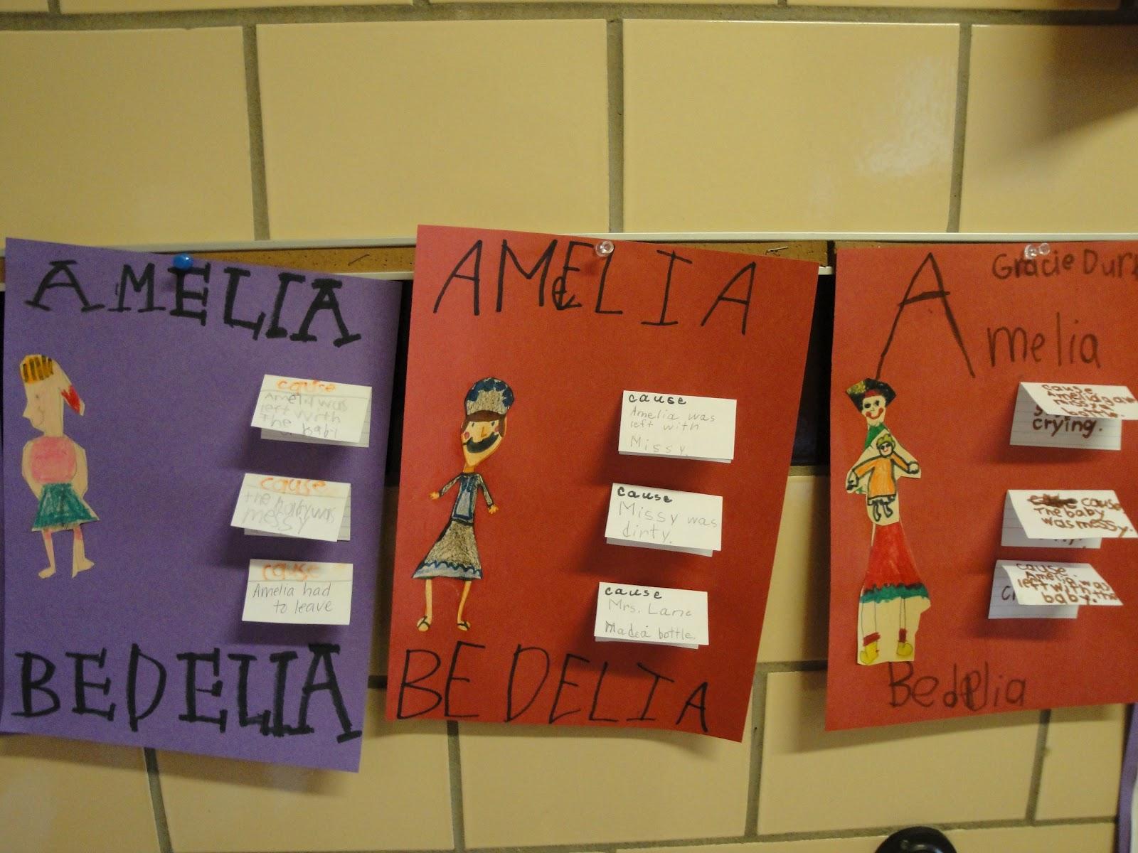 Mrs Stovall S 2nd Grade Amelia Bedelia