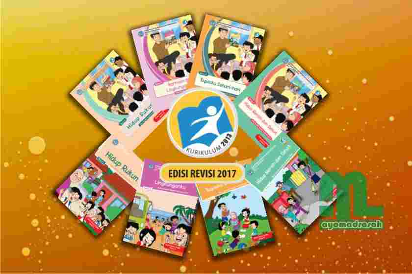 Download Buku K13 Revisi 2017 Kelas 2 Semester 1 Sd Mi Ayo Madrasah