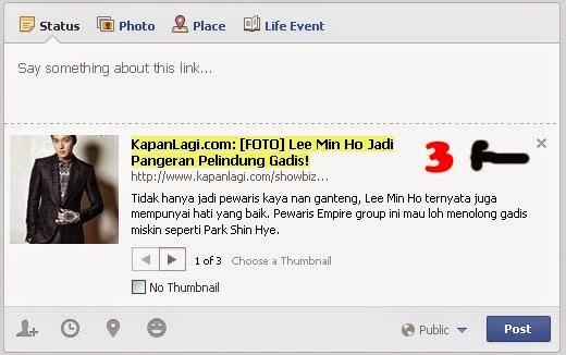 shared link facebook 3