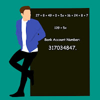 That's The Forgotten Bank Account Number - Maths Puzzle