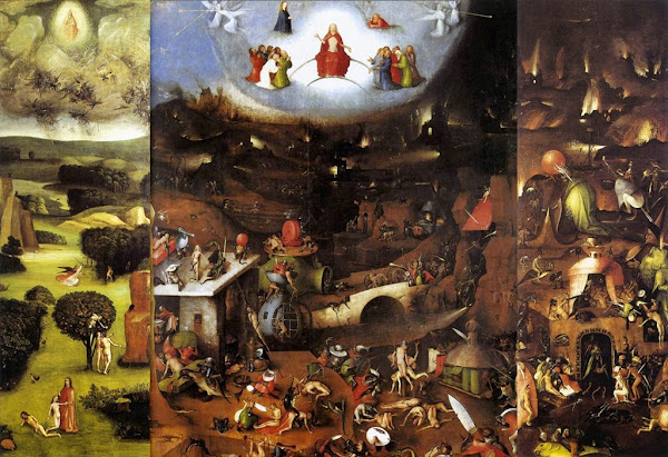 Hieronymus Bosch, Macabre Art, Macabre Paintings, Horror Paintings, Freak Art, Freak Paintings, Horror Picture, Terror Pictures