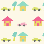 kids city pattern
