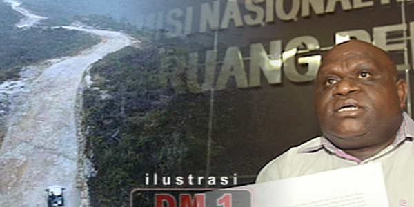 Natalius Pigai: Jokowi Baru Bangun Satu Ruas Jalan di Papua