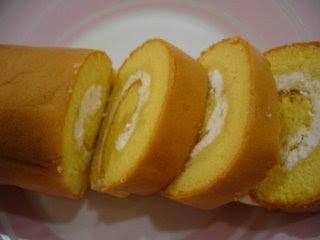 Kue Bolu Gulung Durian