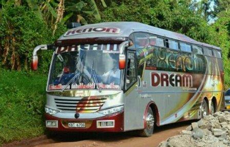 Dreamline Express Bus From Nairobi To Mombasa Online Booking