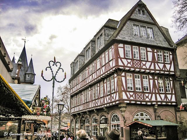 Navidad y Mercados en Frankfurt, por El Guisante Verde Project