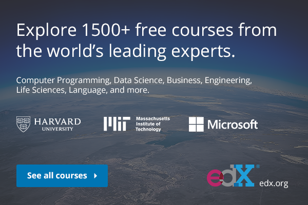 Free Online Courses - Distance Learning Courses at MIT/Harvard/UC Berkeley etc.