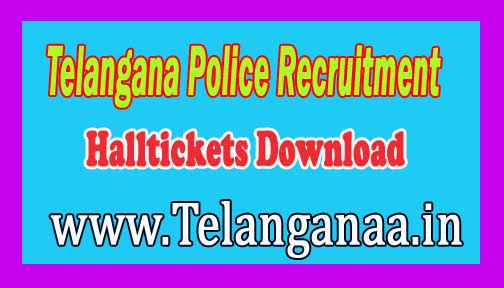 Telangana Police Recruitment Notification 2016 Halltickets Download