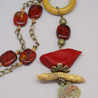 cardinal necklace