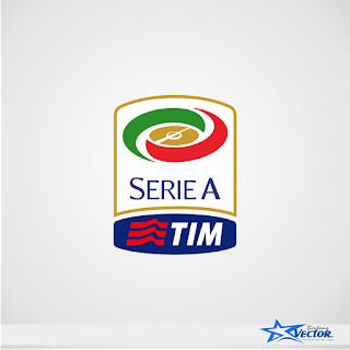 Serie A TIM Logo Vector cdr Download